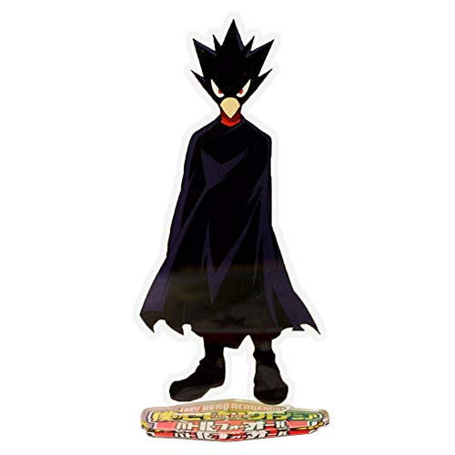 WerNerk Anime My Hero Academia Boku no Hero Academia Acrylic Standing Figure, Desk Stand Miniature Action Figure for Home Office Decor Best Toy for Anime Fans(Fumikage Tokoyami)