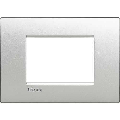 Bticino LNC4803TE Placca Livinglight Air 3 Moduli, Tech