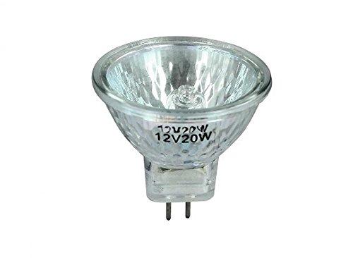 Ampoule lampe halogène 12V 20W diamètre 34mm One Neuf moto optique Manga