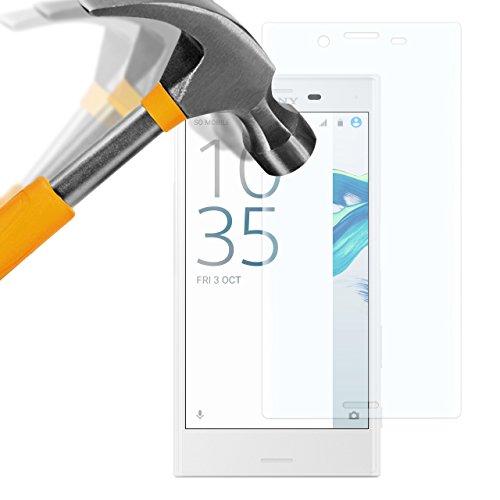 moodie Panzerglas 3D Folie für Sony Xperia X Compact - Premium Glasfolie für Gewölbte Bildschirms Full Screen 3D Panzerglasfolie Curved vollständige Bildschirm Abdeckung
