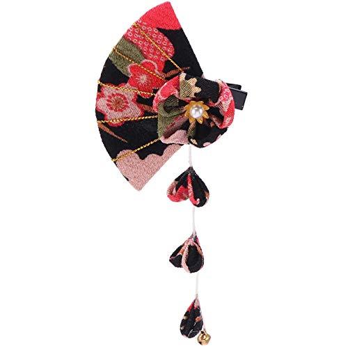 Forcina Giapponese, Forcina Kimono, Forcina Fiore Kimono, Clips Capelli Etnico Nappe Accessorio, Adatto per Matrimoni, Vacanze, Viaggi o Abbigliamento Quotidiano Ecc