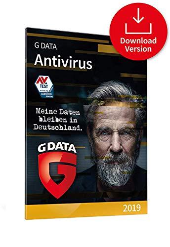 G DATA Antivirus 2018 pour 1 PC [Téléchargement]