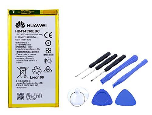 Akku für Huawei Honor 7 | Li-Ion Ersatzakku mit 3100mAh inklusive Werkzeug Set