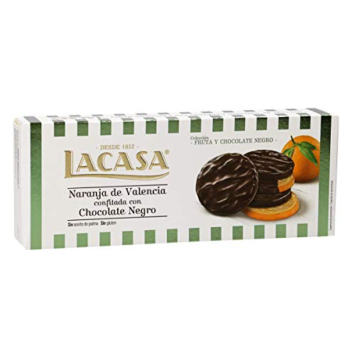 Lacasa Turrón Chocolate Negro, 150 g