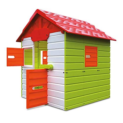 Mondo Ciabòt Garden House - Casetta da Giardino da Gioco per Bambini, House Kids Interno, Esterno Multi-Activity, Cod 32000, Multicolore