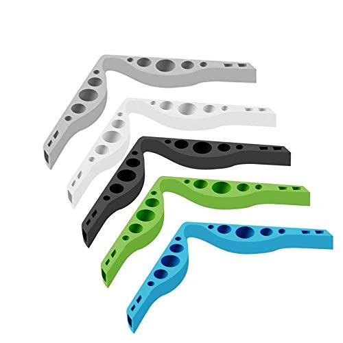Waysoland 5 Stück Nasenbügel für Mundschutz,Anti-Fog-Silikon-Nasenbrücke Verhindern Sie das Beschlagen von Brillen,Nebelfreies Zubehör Anti-Nebel bei kaltem Wetter