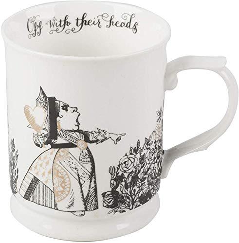 V&A V AND A Taza con diseño Queen of Hearts en caja de regalo, porcelana