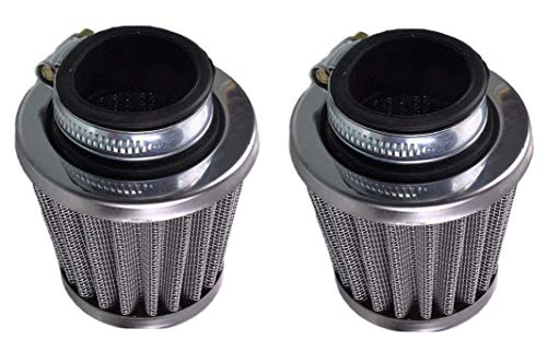 MYCHENG,2 PCS 39mm air filter filter for 50cc 110cc 125cc 150cc 200cc gy6 moped scooter atv dirt bike torcycle