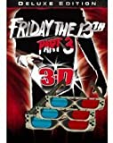 3D Glasses - 3 PAIRS - Original (not knock offs) Friday the 13th Part 3
