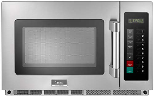 MIDEA Equipment 1834G1A Commercial Microwave, 1800 Watts, Stainless Steel
