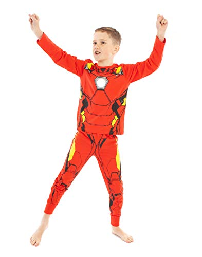 Marvel Iron Man Character Superhero Boy's Pajamas