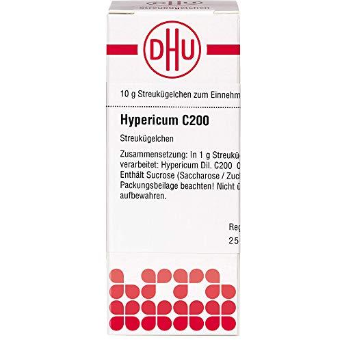 DHU Hypericum C200 Streukügelchen, 10 g Globuli