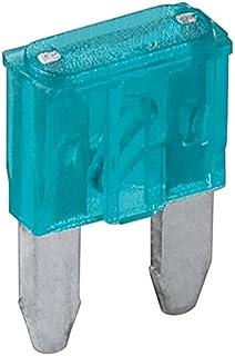 Fixpoint 8318 bilsäkring mini, 15 A, ljusblå