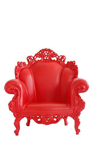 Magis Proust Poltrona 90 x 104 x 105 cm-colore: rosso opaco