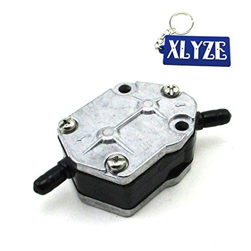 Xlyze Pompe à carburant pour moteurs hors-bord Yamaha 6 A0–24410–00–00 6 A0–24410–02–00 25hp roulant 40hp 50hp 55hp 60 70 75 80 90