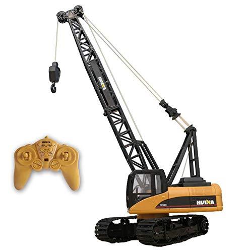 WXIAORONG 1:14 RC Remote Control 2.4Ghz Alloy 15-Kanal Radio Dynamic Remote Remote Engineering Truck Crawler Crane Traktor, Toy Gift Geburtstag Weihnachten 6-15 Jahre Old Boy*