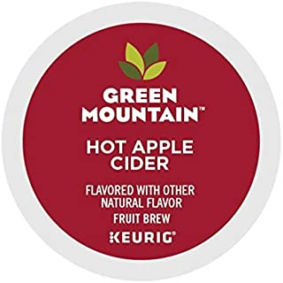 Green Mountain Coffee Apple Cider, Single Serve Cider K Cup Pods for Keurig Brewers, Hot Apple Cider, 72Count