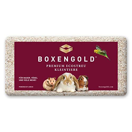 Boxengold Einstreu Kleintiereinstreu Premium Ecostreu Kleintiere 20 kg Tiereinstreu | Grundpreis (0,95 €/kg)