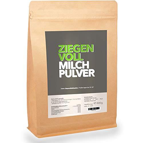 Ziegen-Milch-Pulver I MILCHEREI I Regional und Zusatzstofffrei I 800g | MHD 29.08.2021