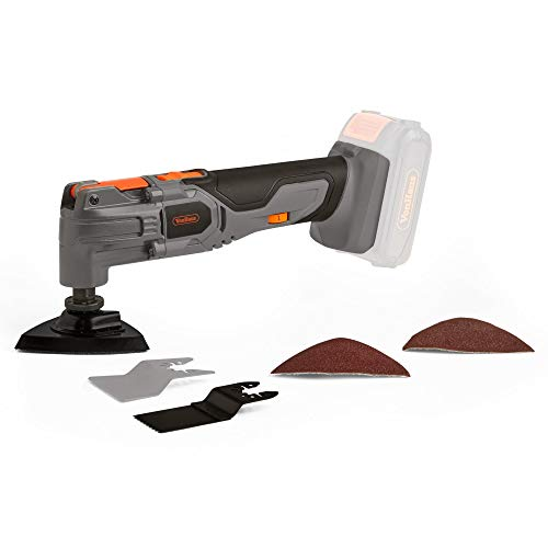 VonHaus E-Series 18V Cordless Oscillating Multitool, NO Battery or Charger Included – Wireless Multi-Purpose Cutter, Scraper & Sander – Versatile Battery-Operated Multitool – Bare Tool
