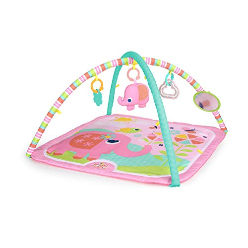 Bright Starts 10091 Tapis d'Eveil Rose Fanciful Flowers