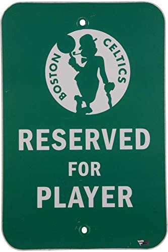 Boston Celtics Team-Issued Green 'Player' Parking Sign - Size - 18' x 12 - Other Game Used NBA Items