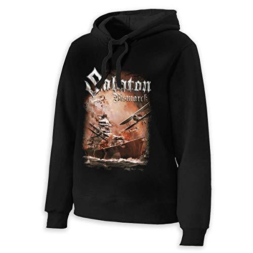 AWonder Sabaton Frauen Hoodie Sweater Classic Langarmshirts Mit Kapuze Sweatshirts