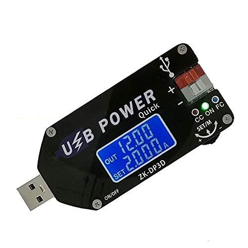 Cheng cheng Módulo de fuente de alimentación CNC USB TYEPE-C DC DC Convertidor CC CV 4-13V a 1-30V 2A 15W Módulo de alimentación ajustable Regulada Fuente de alimentación QC2.0 3.0