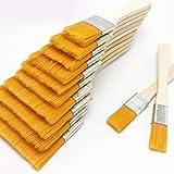 闪电 12pcs / Heimwerker Werkzeuge Wand-Dekor Wiederverwendbare Barbecue Nylon Gouache mit Holzgriffen Ölgemälde-Geschenk for Kinder Pinsel Farbe