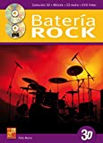La batería rock en 3D - 1 Libro + 1 CD + 1 DVD