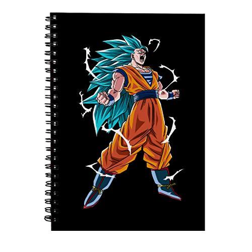 Goku Super Saiyan Drie Draak Bal Z Spiraal Notebook