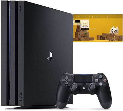 PlayStation 4 Pro ジェット・ブラック 1TB 特別販売【Amazon.co.jp特典】オリジナルカスタムテーマ (配信)