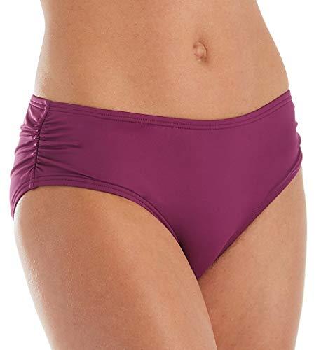 Coco Reef Women's Side Shirred Bikini Bottom, Amethyst 542, Large