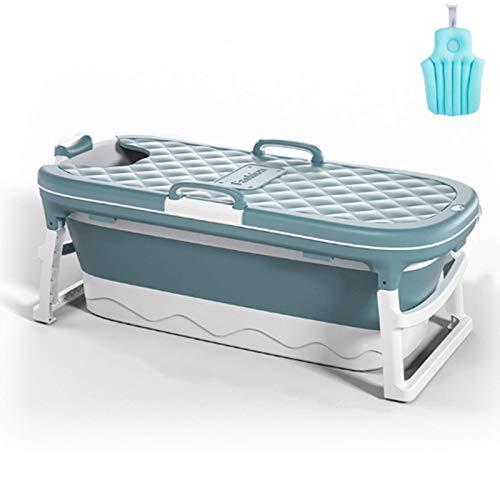 Bañera portátil adulta, bañera de los niños adultos pleg