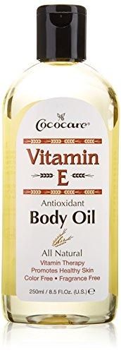 La vitamina E, aceite corporal, 8.5 fl oz (250 ml) - Cococare