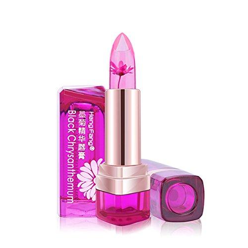 Frcolor Blume Jelly Feuchtigkeitscreme Lippenstift Farbe Temperaturänderung lang anhaltende Blüte...