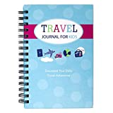 Travel Journal for Kids- Fun and Easy Way to Document Several Childhood Vacations in One Journal (Teal and Pink)