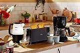 Philips HD2581/90 Toaster, integrierter Brötchenaufsatz, 8 Bräunungsstufen, schwarz - 6