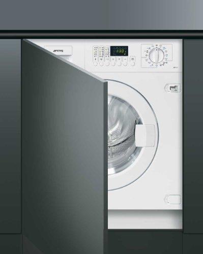 SMEG Einbau-Waschmaschine in Weiß LST147 60cm