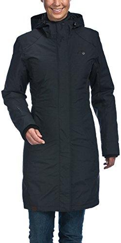 Tatonka Damen Mantel SUVA 3in1 Coat, Black, 42