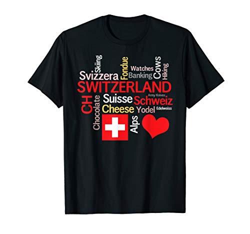 Ich liebe die Schweiz T-Shirt