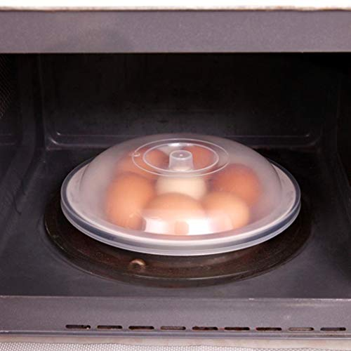 YJYdada Magnetron Voedsel Cover Plaat Geventileerde Splatter Protector Clear Keuken Deksel Veilige Vent A