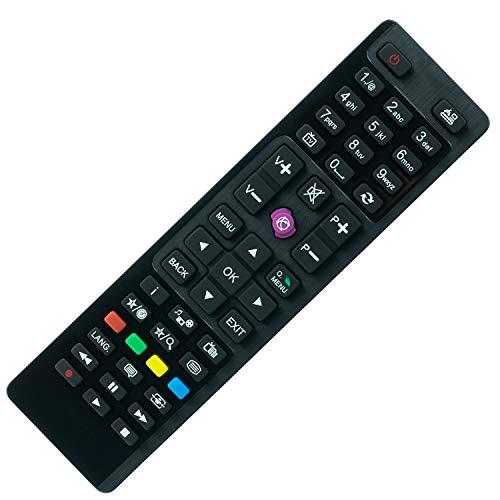 Ersatz Fernbedienung Telefunken RC4870 / RC-4870 / RC 4870 Remote Control - afstandsbediening, télécommande, Kumanda, Plug & Play
