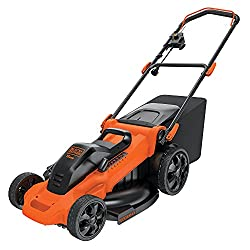 professional BLACK + DECKER lawn mower, with cord, 13 amps, 20 inches (MM2000)