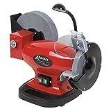 Ribimex PRTMEMIX400 Smerigliatrice combinata da banco con Mole 150 200 mm 400 W, 230 V, 150/200 Mm
