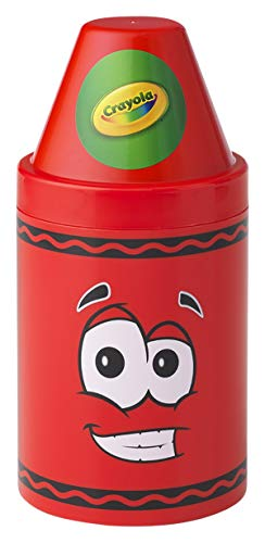 Crayola Storage Container, Large, 5-1/2 x 12 Inches, Red, Model:20050485