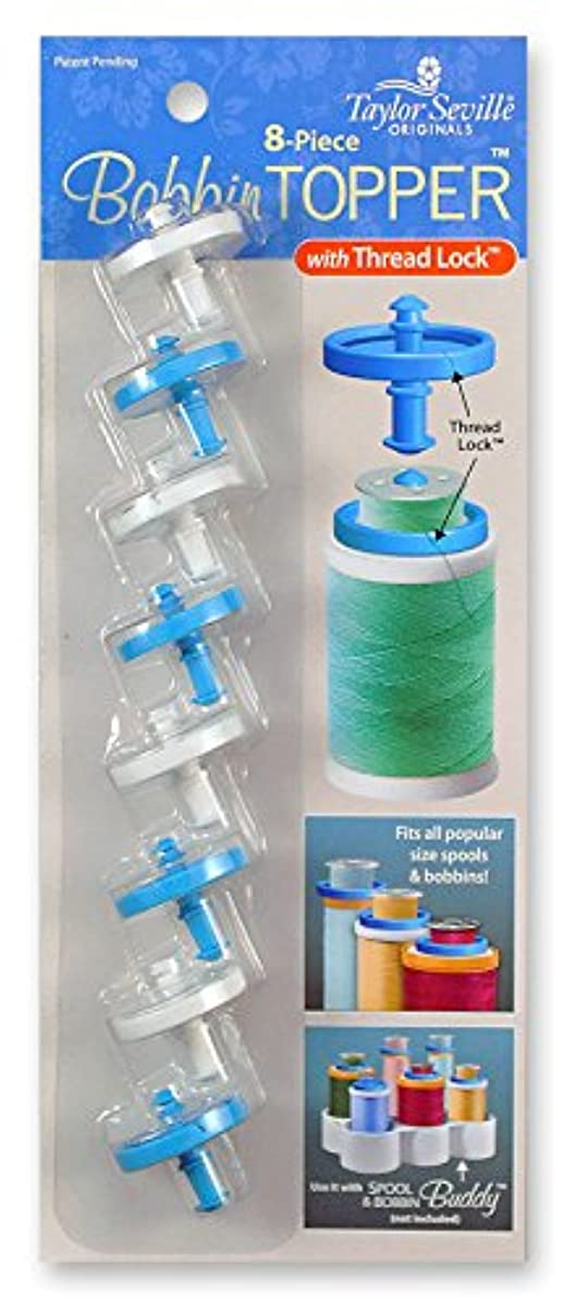 Taylor Seville Originals Bobbin Topper-Fits All Popular Sizes of Spools-Thread Lock Feature Helps Keep Thread Organized and Neat