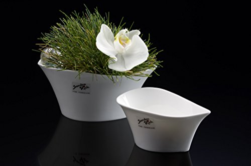 Sandra Rich en Porcelaine Blanc Forme 14