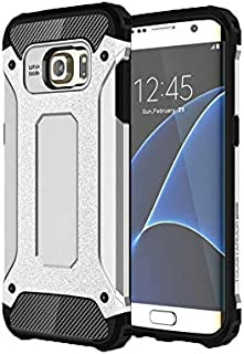 Galaxy S7 edge 2016 Case, SsHhUu TPU + PC Double layer Premium Protection King Kong Armor Anti-scratch Dual Layer Shockproof Falling Bumper Dustproof Case for Samsung Galaxy S7 edge 2016 (5.5