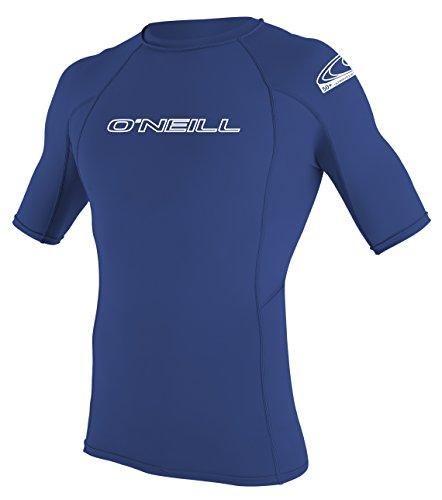 ONELL WETSUITS heren UV-bescherming Basic Skins S/S Crew Rash Vest